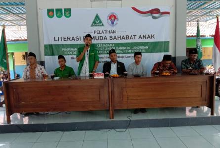 Ketua PAC GP Ansor Sarirejo: